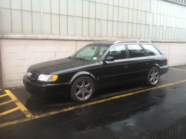 FS 1995 Audi S6 Avant Black/Black :: motorgeek.com